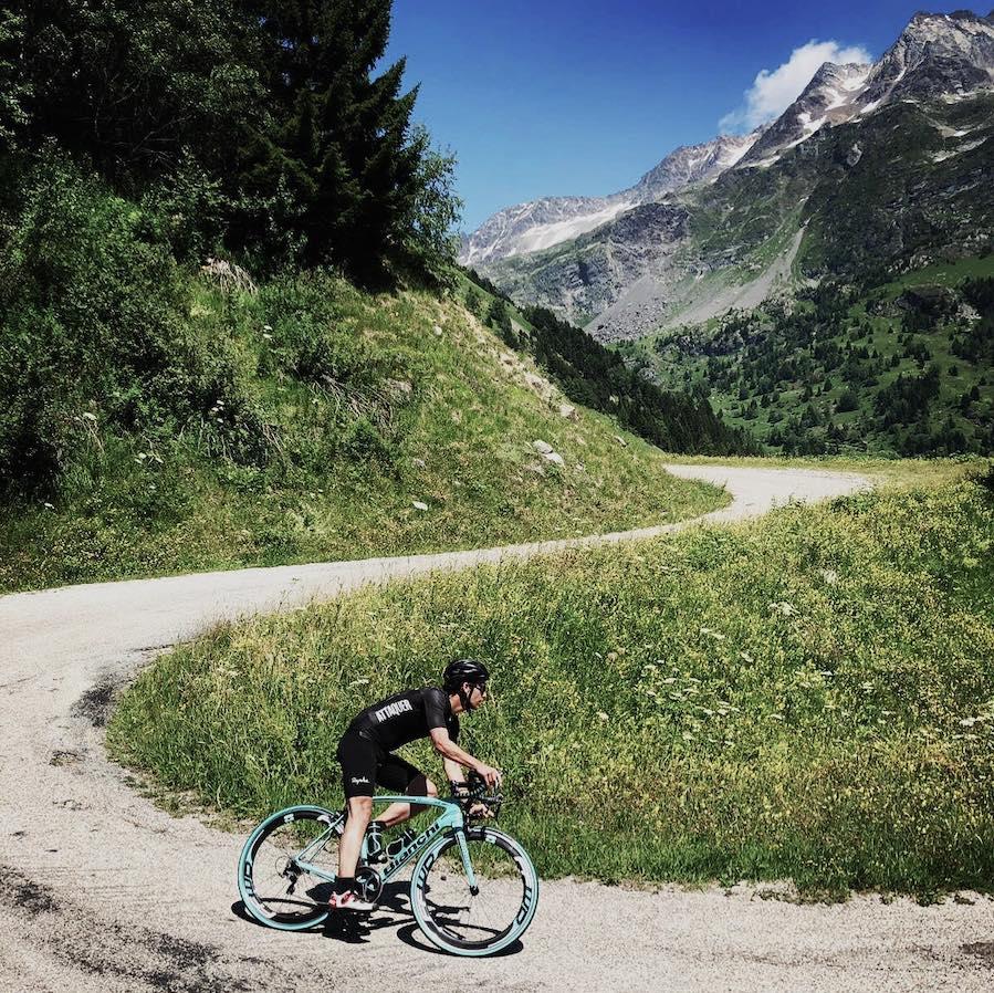 col du sabot cycling