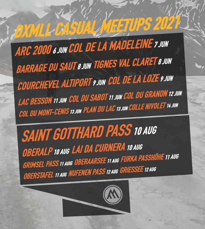 Casual meetups 2021