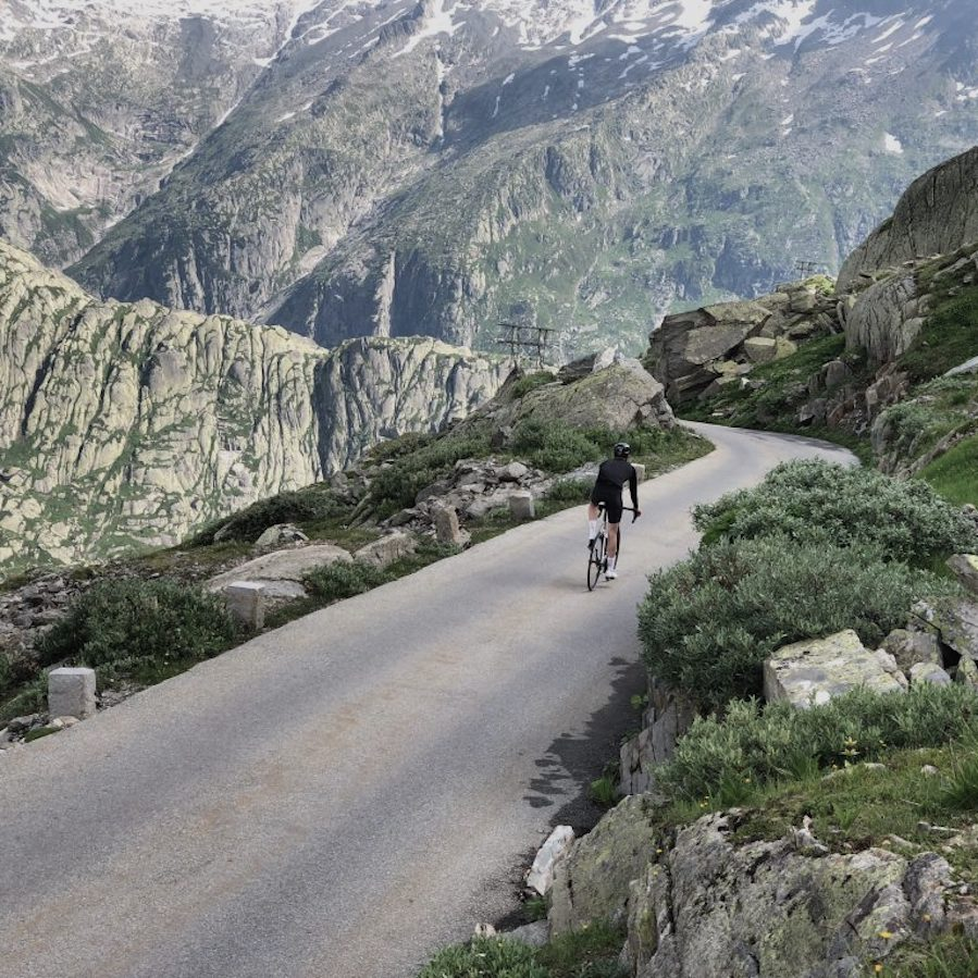 oberaarsee cycling
